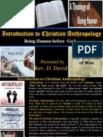 G 7 - Doctrine of Anthropology