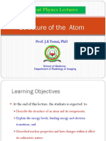 Lecture 3 Structure of an Atom