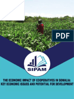 The Economic Impact of Cooperatives in Somalia Key Economic Issues and Potential for Development