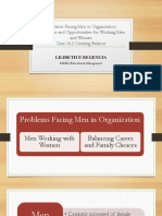 Problems Facing Men in Organization
