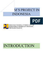 Icharm's Project in Indonesia
