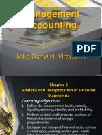 Analysis and Interpretation of Financial Statement
