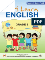 English Grade 5 Part 2 (Teacher's Book)