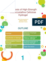 Biomaterial - Hydrogel