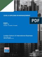 ATHE Level 6 Management Specification - LSIB,UK