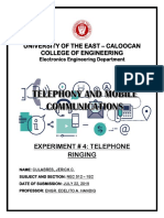 Expt 4 Telephony and Mobile Communications