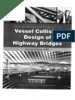 ABP12_Q - AASHTO Vessel Collision Design of Highway Bridges (2009)