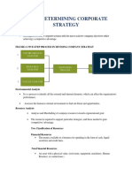 Chapter 2 ( Determing Corporate Strategy)