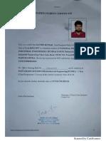 0 Bonafide Certificate 1