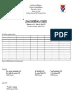 Signature Card - Aline Asuncion