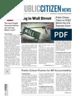Public Citizen News September-October 2010