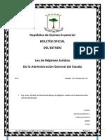 BOLETIN OFICIAL DE ESTADO G.E