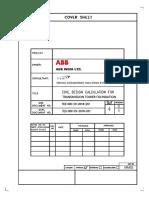 Design Calcualtion of Tower Foundation_24.12.18