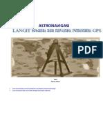 Astronavigasi untuk Cetak