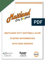 mcsc 2019 season information