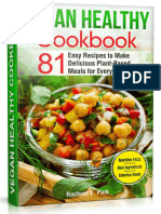 Vegan Healthy Cookbook