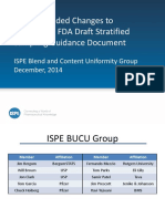 ISPE Blend and content uniformity guidance