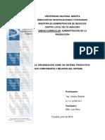 Ing. Joselys Salazar c.i 12597611 Trabajo 1 Adm de La Producción