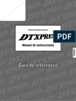 Manual Dtx Express - Referencia