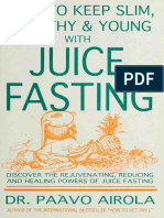 Juice Fasting by Paavo