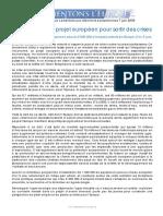 Lettre Europeennes Francais Alimentons Leurope