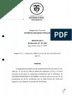 11a. Csj Aceptacion Cargos Debido Proceso Sp9379-201745495