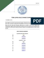 Türk Loydu Rule Change Summary (2018 03)