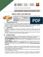 Bases de Juegos Florales I.E. N° 32443 - HUACASH - JACAS GRANDE