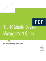 1pdf.net Top 10 Mobile Device Management Suites