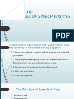 The Principle of Speech Writing.pptx