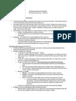 AP Microeconomics Class Notes - Chapter 1 - Ten Principles of Economics