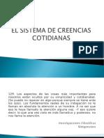 1. EL SISTEMA DE CREENCIAS COTIDIANAS.ppt