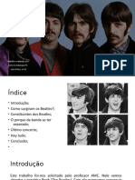 trabalho sobre Beatles