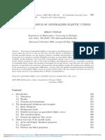 ConradB Arithmetic Moduli of Generalized Elliptic Curves