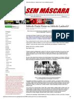 Mídia Sem Máscara - Método Paulo Freire Ou Método Laubach