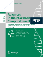 BIOINFORMATICA__Advances in Bioinformatics and Computational Biology_ 9th Brazilian Symposium on Bioinformatics, BSB 2014, Belo Horizonte, Brazil, October 28-30, 2014, Proceedings