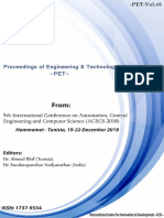 Proceedings ACECS-2018 Anglo