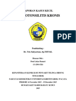 Adenotonsilitis Kronis