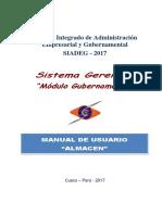 SIADEG Manual Guber Almacen