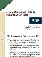 PPT on Entrepreneurship