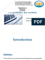 CS - C1 - La Constitution de La SA