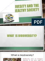 Biodivesity and the Healthy Society - Copy