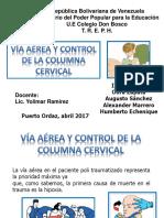 Vía Aérea y Control de La Columna Cervical