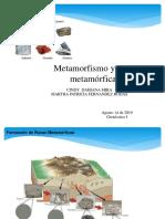 Metamorfismo y Rocas Metamorficas