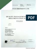 Documentation Matrix DS QMS 00 R2