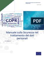 Manuale di adeguamento al GDPR