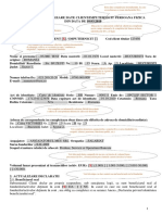 Formular Actualizare Date Simplificat Clienti PF Model