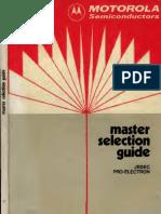 Motorola Master Selection Guide Data Book 1975