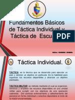 TACTICA PARA EL COMBATIENTE INDIVIUAL