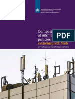 Comparison of international policies on electromagnetic fields (2018)